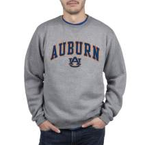 Top of the World Men's Fit Light Heather Arch Premium Fabric Crewneck Sweatshirt