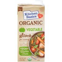 Kitchen Basics Organic Vegetable Stock, 32 oz