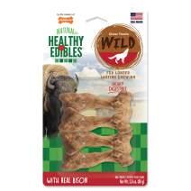 Nylabone Healthy Edibles Wild Natural Long Lasting Bison Dog Chew Treats