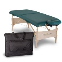 INNER STRENGTH Portable Massage Table Package ELEMENT – Incl. Deluxe Adjustable Face Cradle, Face Pillow & Carrying Case