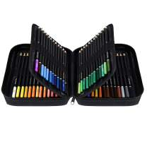 Orionstar Colored Pencils Set of 72 Colors with Zipper Case for Adult Artist Beginner, Vibrant Numbered Pencil with Premium Soft Core for Professional Drawing Art, Sketching, Shading, Coloring Book