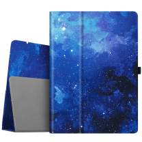 Fintie Folio Case for iPad Pro 12.9 (2nd Gen) 2017 / iPad Pro 12.9 (1st Gen) 2015 - [Corner Protection] Premium PU Leather Smart Stand Protective Cover with Auto Sleep/Wake (Starry Sky)