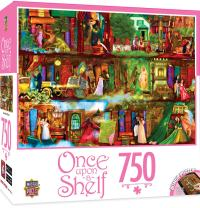 MasterPieces Once Upon A Shelf Collection Literature of Love Jigsaw Puzzle, 750-Piece
