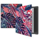 VORI Case for Kindle Oasis (10th Generation, 2019 Release and 9th Generation, 2017 Release), Premium Slim Folio Protective Smart Cover with Auto Wake/Sleep, Summer Palm leaf