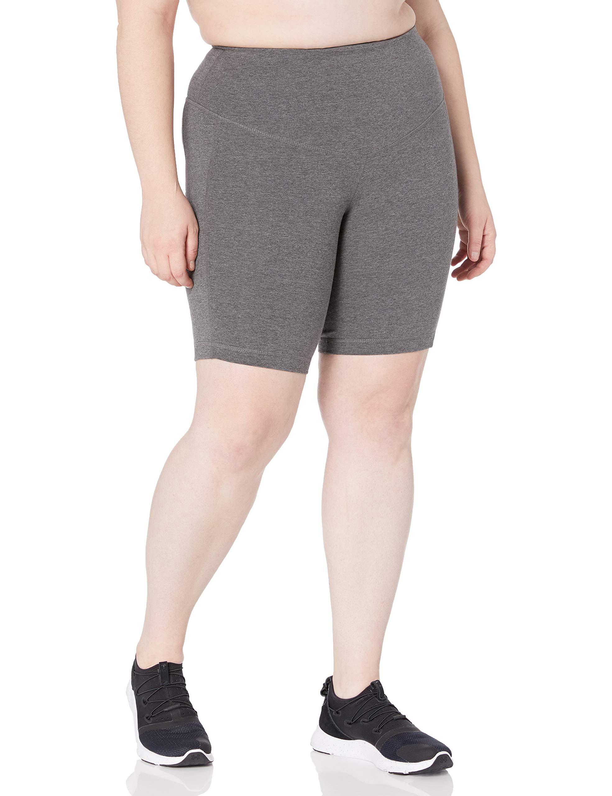 Rainbeau Curves Women's Plus Size Curve Basix Compression Bike Short
