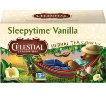 Celestial Seasonings Sleepytime Vanilla Herbal Tea, 20 Count (Pack of 6)