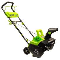 Earthwise SN74022 22-Inch 40-Volt Cordless Electric Snow Thrower, 4.0AH Battery & Charger Included