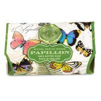 Michel Design Works Triple Milled Shea Butter Bath Soap Bar, Papillon