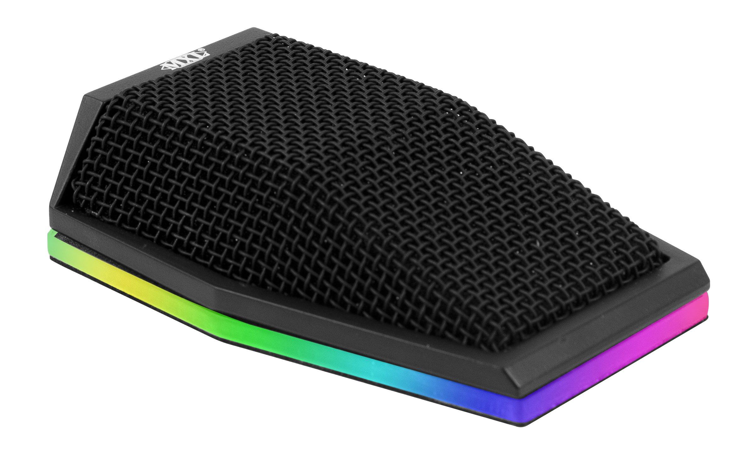 MXL Mics Condenser Microphone, Multi-Color LED (AC-404-LED)