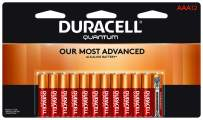 Duracell - Quantum AAA Alkaline Batteries - Long Lasting, All-Purpose Triple A Battery for Household and Business - 12 Count
