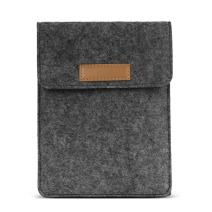 """MoKo 6 Inch Kindle Sleeve Case Fits for All-New Kindle Paperwhite 2018/Kindle 10th Generation 2019, Protective Felt Cover Bag for Kindle Voyage/Kindle (8th Gen)/Kindle Oasis 6"""" E-Reader, Dark Gray"""