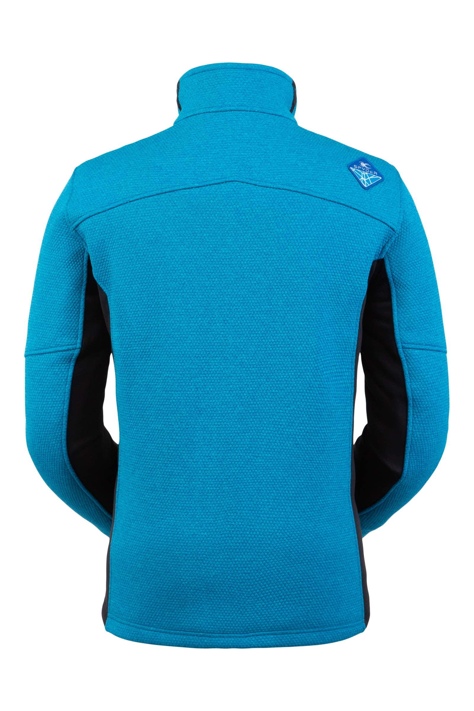 Spyder Men's Wengen Encore Fleece Jacket – Full Zip Sweater