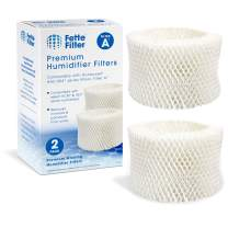 Fette Filter - Humidifier Wicking Filters Compatible with Honeywell HAC-504AW, Filter A for Models HAC-504 (Pack of 2)