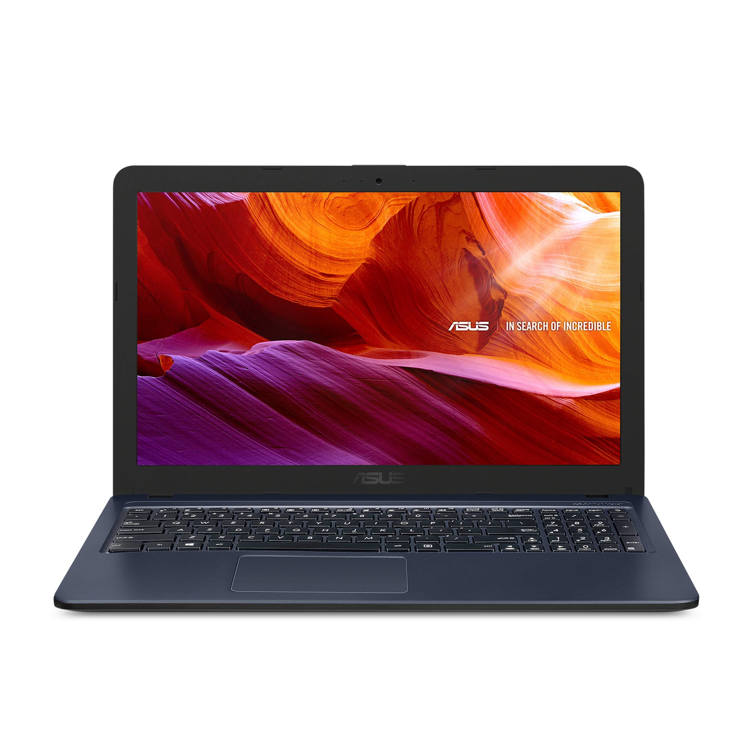 "Asus 90NB0IR7-M10510 15.6"" HD Laptop, Intel Celeron N4000 (4M Cache, up to 2.6 GHz) Processor, 4GB RAM, 1TB HDD, Windows 10, Star Gray, R543MA-RB04"