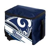 FOCO NFL Unisex-Adult Big Logo Stripe 12 Pack Cooler