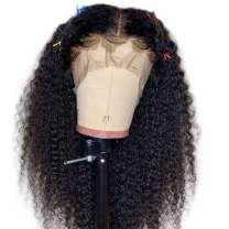 IWISH 360 Lace Frontal Wig Human Hair Brazilian Water Wave,(16) 180% Density 360 Lace Frontal Human Hair Wigs Pre Plucked with Baby Hair Can Be Dyed
