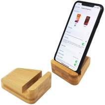 Bamboo Desktop Cell Phone Stand Holder