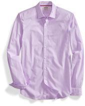 Amazon Brand - Goodthreads Men's Slim-Fit Long-Sleeve Solid Poplin Shirt