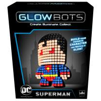 Goliath DC Glowbot Superman, Multicolor