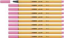 Fineliner - STABILO Point 88 Box of 10 Light Pink