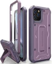 ArmadilloTek Vanguard Designed for iPhone 11 Pro Case (5.8 inches) Military Grade Full-Body Rugged with Built-in Screen Protector and Kickstand - Purple