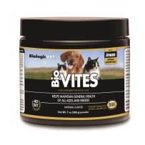 BiologicVET BioVITES Multi-Nutrient - Vitamins, Minerals & Enzymes for Dogs and Cats, Powder