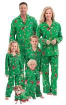 PajamaGram Family Christmas Pajamas Soft - Christmas Pajamas for Family, Green
