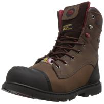 """FSI Avenger Men's Hammer 8"""" Insulated Waterproof Leather Carbon Toe Puncture Resistant EH Industrial Safety Work Boot"""