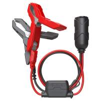 NOCO GC017 12-Volt Adapter Plug Socket With Battery Clamps