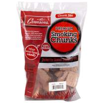 Camerons Products Smoking Wood Chunks- (Alder) Kiln Dried BBQ Large Cut Chips- All Natural Barbecue Smoker Chunks- 5 Pound Bag