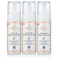 Mambino Organics Happy Time Shampoo & Body Wash, Calendula and Sweet Orange, 5.5 Ounces, 3 Pack (15% Off)