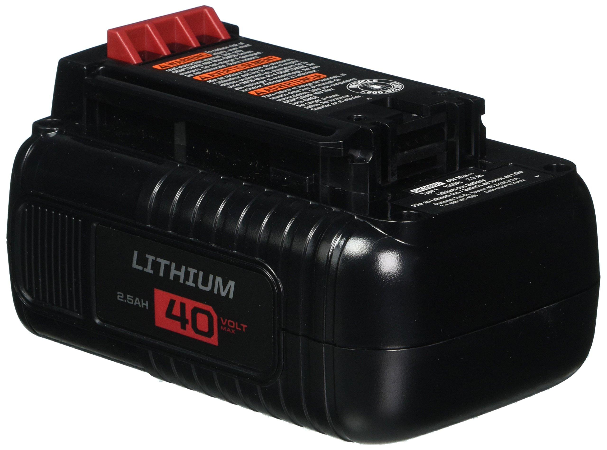CRAFTSMAN 40V MAX Battery, Lithium Ion (CMCB98027)