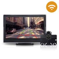 Wireless Backup Camera for Truck, Toguard Waterproof Rear Camera Kit, 5 Inch LCD Monitor Cam with Digital Singal for Van, Camping Car, SUV, Sedans, Minivans