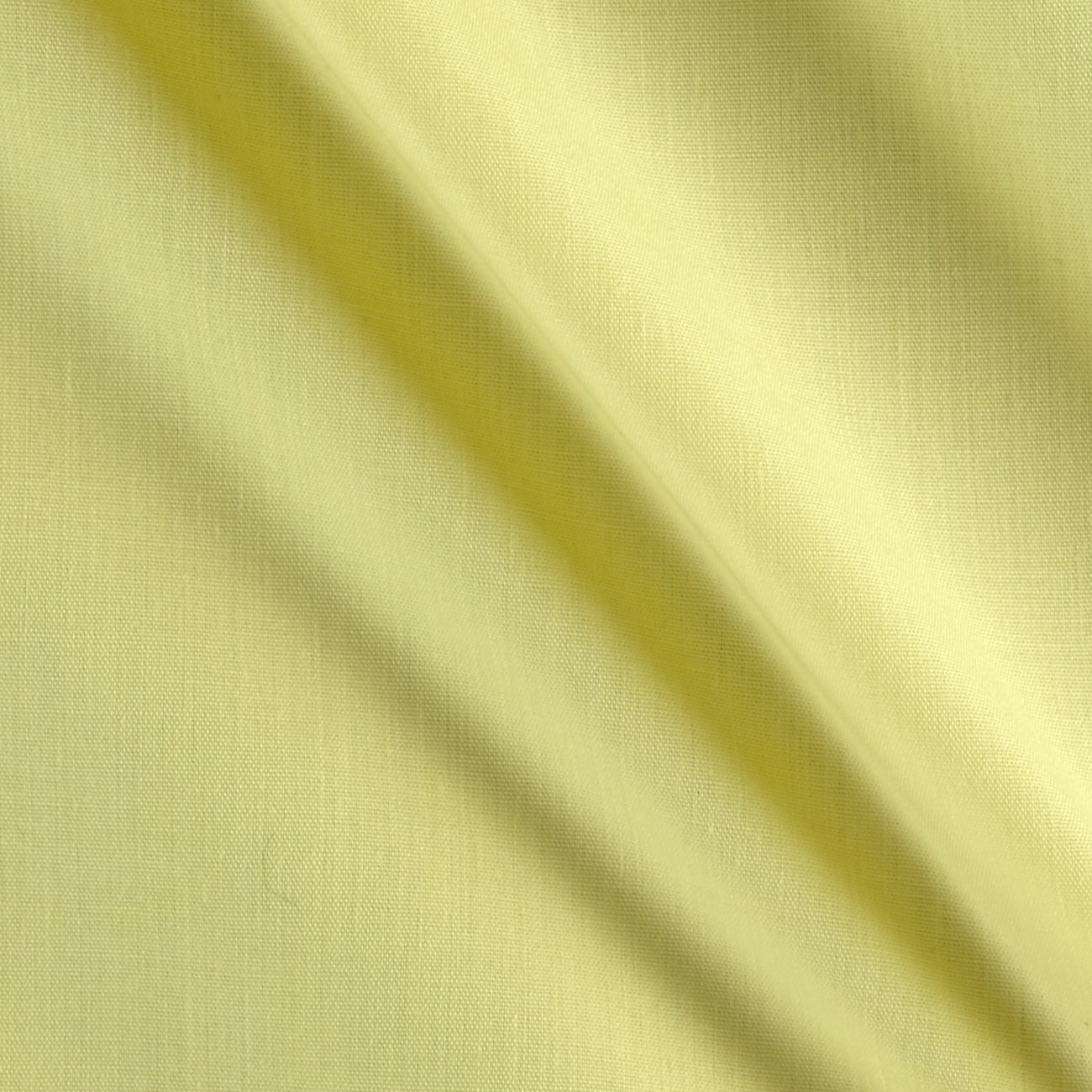 "Ben Textiles 60"" Poly Cotton Broadcloth, Yard, Light Yellow"