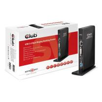 Club3D USB 3.0 Dual Display Docking Station DVI/HDMI (CSV-3242HD)