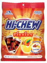 Hi-Chew Sensationally Chewy Japanese Fruit Candy, Fizzies Mix Cola & Orange Soda, 3.17 Ounce (Pack of 6)