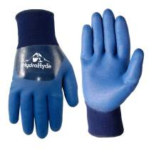 Men's HydraHyde Cold Weather Work Gloves, Water-Resistant Latex Double Coating, X-Large (Wells Lamont 575XL)