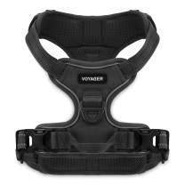 Voyager Dual Attachment Outdoor Dog Harness by Best Pet Supplies | NO-Pull Pet Walking Vest Harness