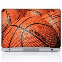 Meffort Inc 15 15.6 Inch Laptop Notebook Skin Sticker Cover Art Decal (Included 2 Wrist pad) - Basketball