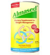 Almased Meal Replacement shakes – Gluten-Free, non-GMO Weight Loss Powder – Vanilla Flavor, 17.6 oz (Single)