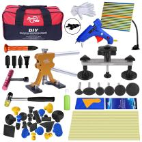 Super PDR Dent Puller Kit,PDR Tools 52Pcs Dent Remover for Car Body Dent Repair Kit
