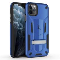 ZIZO Transform Series for iPhone 11 Pro Case - Dual-Layer Protection w/Kickstand, Military Grade Drop Protection Designed for iPhone 5.8 - Blue