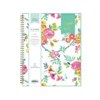 """Day Designer for Blue Sky 2020-2021 Academic Year Weekly & Monthly Planner, Flexible Cover, Twin-Wire Binding, 8.5"""" x 11"""", Peyton White"""