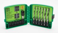 Greenlee LDTAPKIT LONG DRILL/TAP BIT KIT