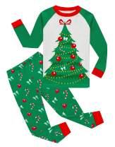 Family Feeling Little Boys Girls Child Pajamas Sets 100% Cotton Toddler Pjs