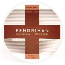 Fendrihan Sandalwood Shaving Cream 6 Ounce (Made in England)