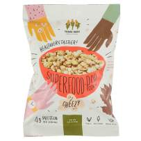 Three Dads Natural Foods Superfood Popcorn - Healthy Air Popped Vegan Popcorn That Tastes so Good You Can't Stop Eating It - High in Protein, Fiber, and B Vitamins (12 Pack)