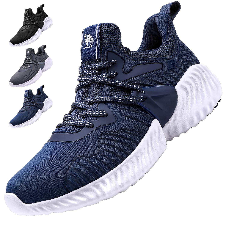 CAMEL CROWN Men's Running Shoes, Tennis Shoes Fashion Sneaker Lightweight Athletic Casual Sport Workout Walking Jogging Footwear