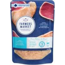 Farmers Market Pet Food Premium Natural Wet Cat Food Pouch, 3 oz (Case of 24)