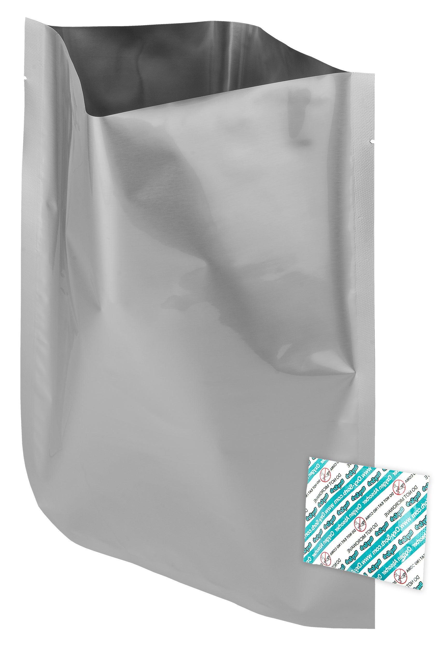 400 - 1 Gallon Mylar Bags & Oxygen Absorbers for Dried Food & Long Term Storage by Dry-Packs!